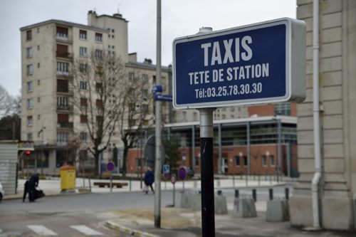 station de taxis